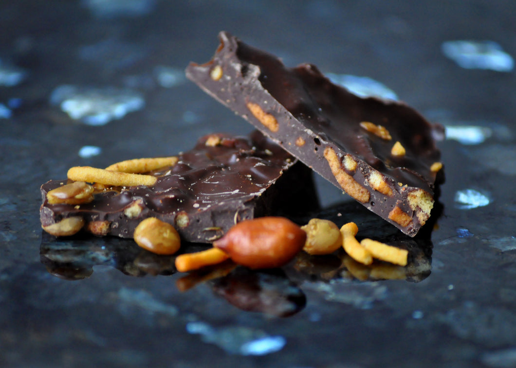 Dark Chocolate Bombay Mix Shards