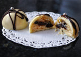 Chocally Mince Pie White Chocolate Ganache