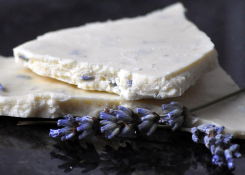 White Chocolate Lavender Shards
