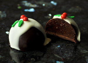 Christmas Pudding Truffle