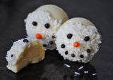 Chocally Frosty Snowmen Truffles