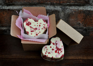 A Berry Gooey Heart in a Box