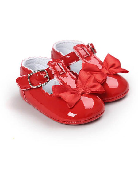 Red Bow Shoe