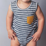 Baby Boys Pocket Romper