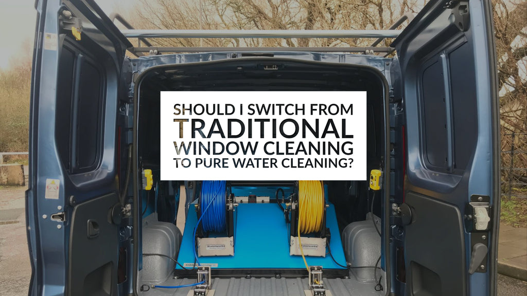 Should I Switch From Traditional Window Cleaning To Pure Water Cleaning?