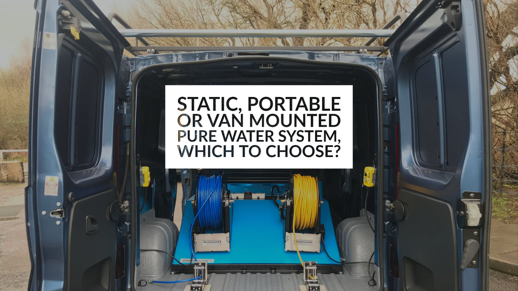 Static, Portable or Van Mounted Pure Water System - Which To Choose?