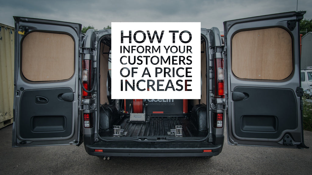 How To Inform Your Customers of a Price Increase