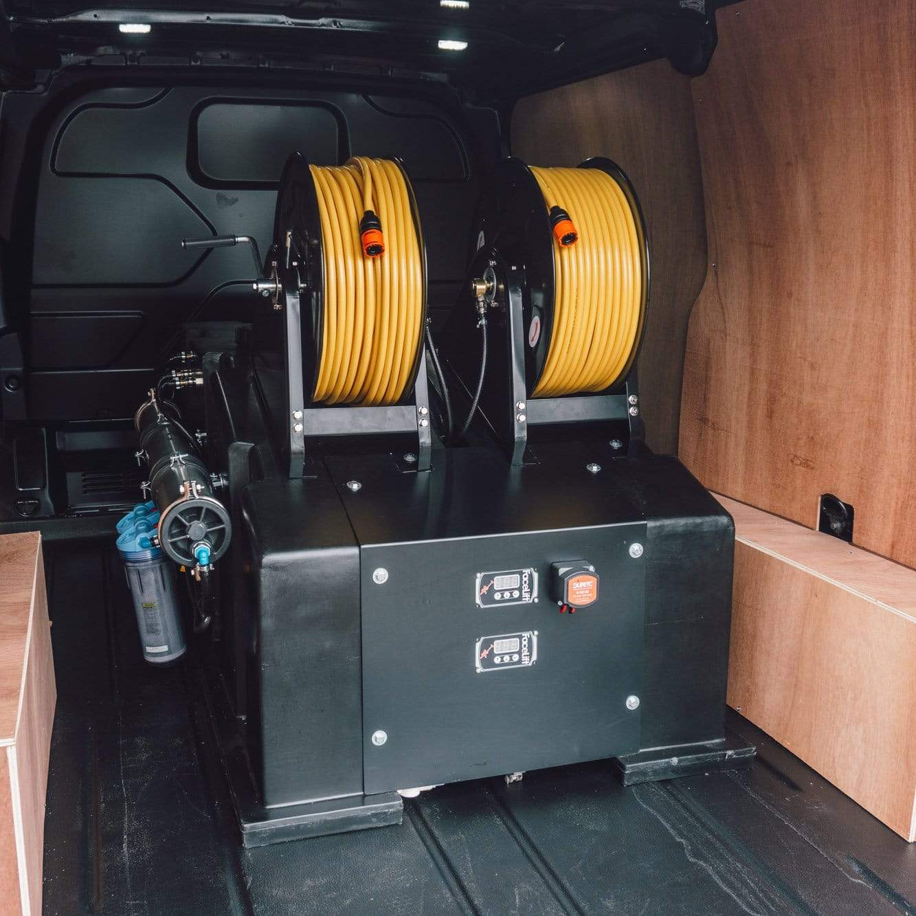 WCW OSMO COMPACT Van Mounted Systems - 525 Litre