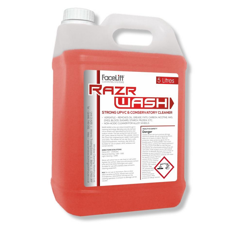 FaceLift® RazrWASH UPVC Cleaner