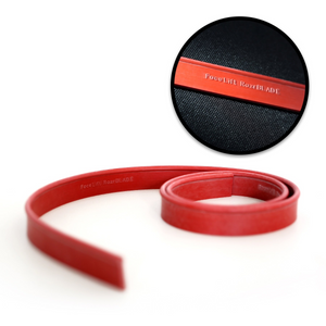 FaceLift® RazrBLADE RED Squeegee Rubber