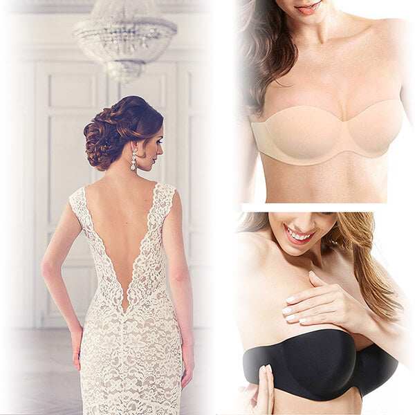 The Bridal Bra™ Invisible Cups