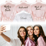 The Bridal Bra™ Getting Ready Bridal Robes