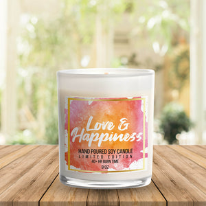 Love & Happiness Candle