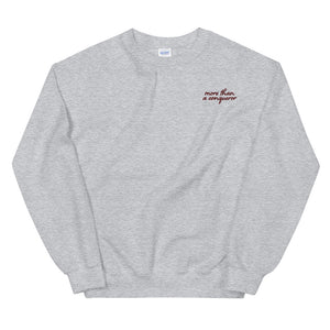 More than a Conqueror Sweatshirt