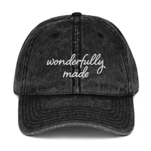 Load image into Gallery viewer, Wonderfully Made Vintage Cap