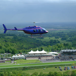 Helicopter Experience Goodwood Gallop