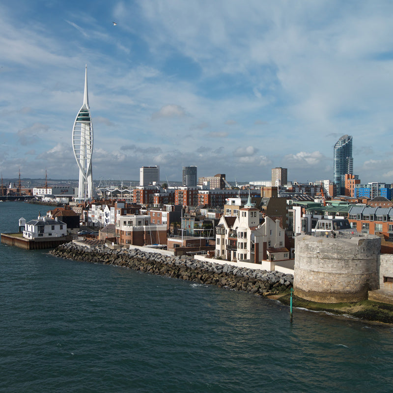 Towers, Tall Ships and Portsmouth City Helicopter Experience