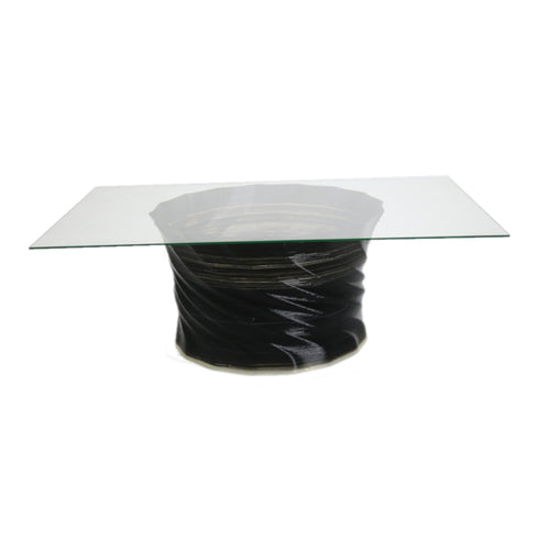 Crawl Coffee Table Square Glass
