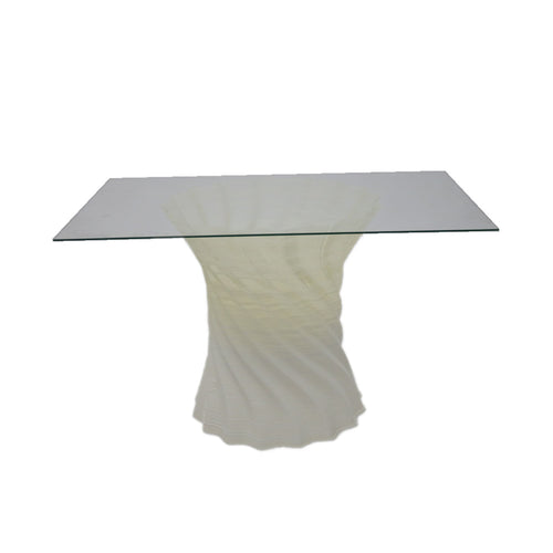 Crawl Dining Table Square Glass
