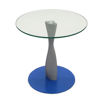 Nightcloud Round Glass End Table - Dining Tables Sale | Modernpeek