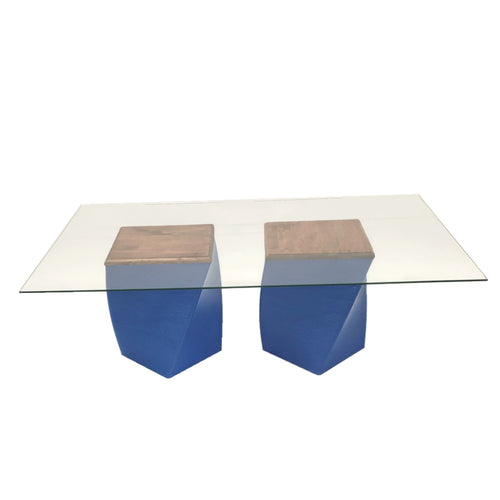 Parable Coffee Table Double Wood Top Base
