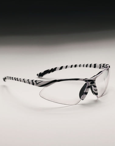 Shooting Glasses - Zebra Frame