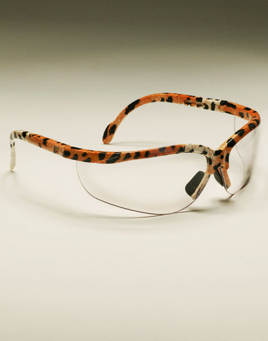 Shooting Glasses - Leopard Frame