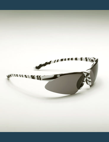Shooting Sunglasses - Zebra Frame