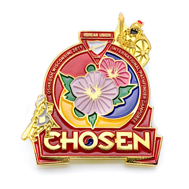 Korean Chosen 2019 Pin Set (Charity) - Pinfinder Club