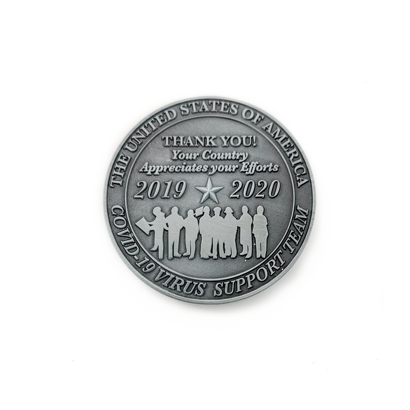 Frontline Heroes Appreciation Coin