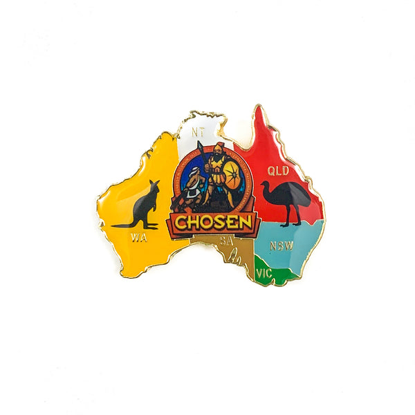 Australia Pathfinder Chosen 2019 Oshkosh Down Under Pin - Pinfinder Club