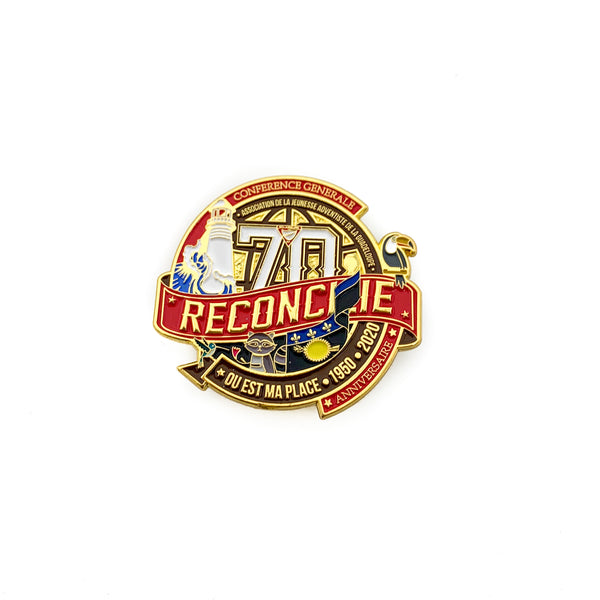 70th Reconciled Pathfinder Guadeloupe Pin