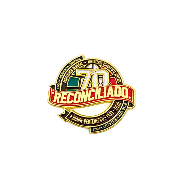 70th Reconciled Pathfinder Central Mexican Union Pin