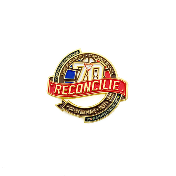 70th Reconciled Pathfinder Martinique Pin