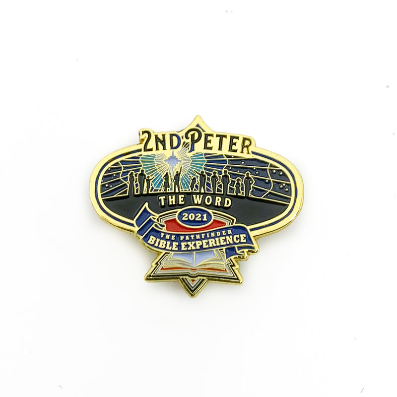 2021 Pathfinder Bible Experience Pins