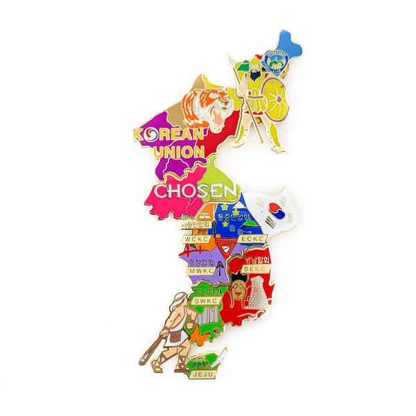 Chosen Korean Union Map (Fundraiser Pin Set)