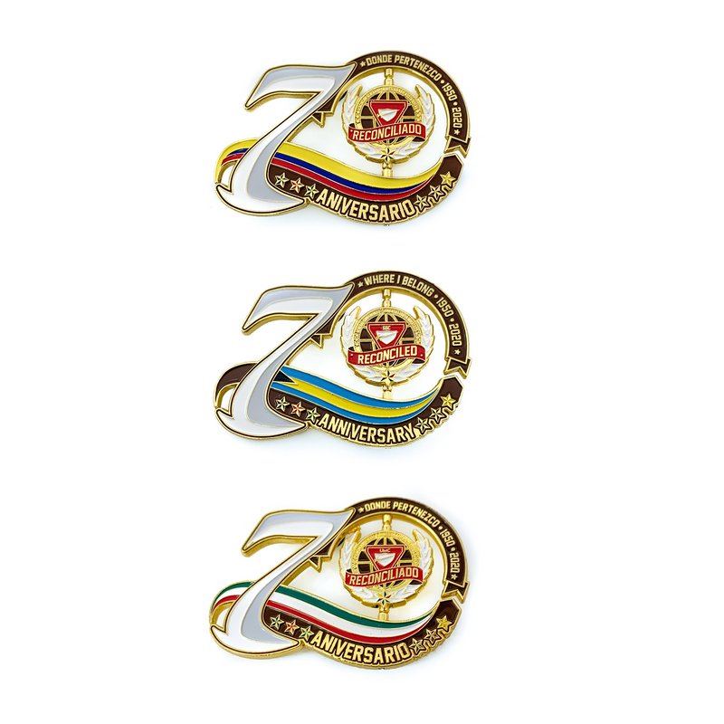 70th Year Anniversary Spinner Bundle
