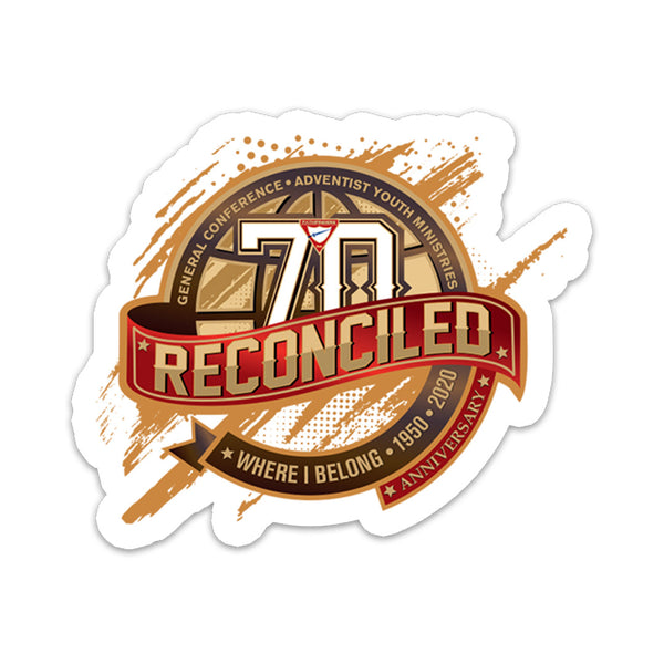 Pathfinder 70th Year Anniversary 2020 Sticker - Pinfinder Club