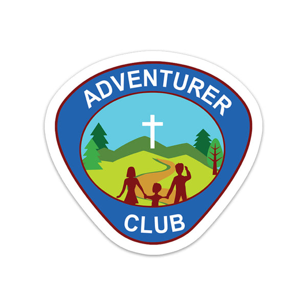 Adventurer Club Sticker - Pinfinder Club