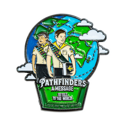 Pathfinders a Message to Tell to the World Pin - Pinfinder Club
