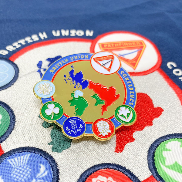 British Union Pathfinder Scarf & Pin (Bundle) - Pinfinder Club