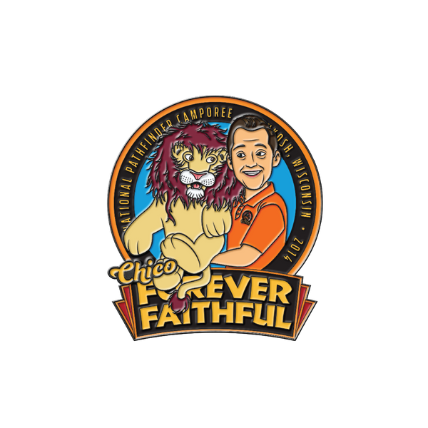 Forever Faithful Chico the Lion Pin - Pinfinder Club