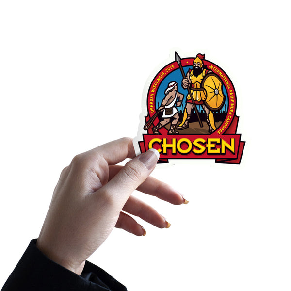 Chosen Pathfinder Camporee 2019 Sticker - Pinfinder Club
