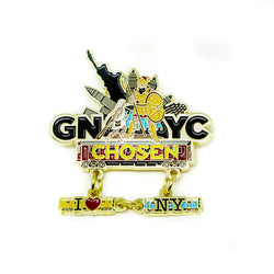 GNYC I Love NY Train Pin - Pinfinder Club
