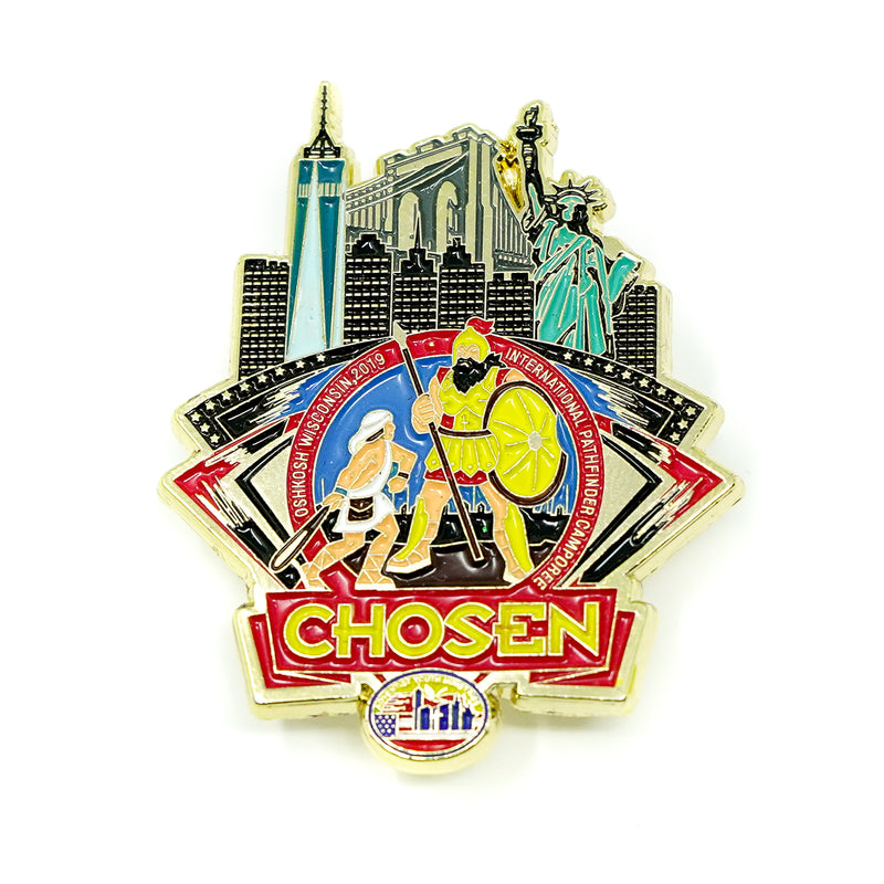 GNYC Chosen 2019 Freedom Pin (BRAZIL ONLY) - Pinfinder Club