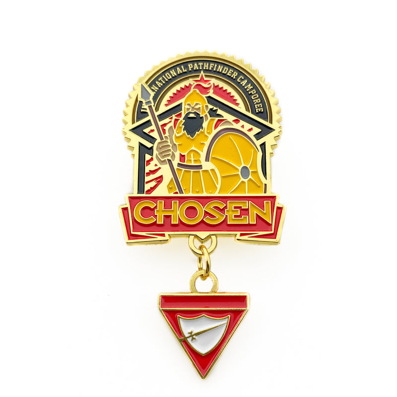 Chosen David & Goliath Pathfinder 2019 (Pin Set) - Pinfinder Club