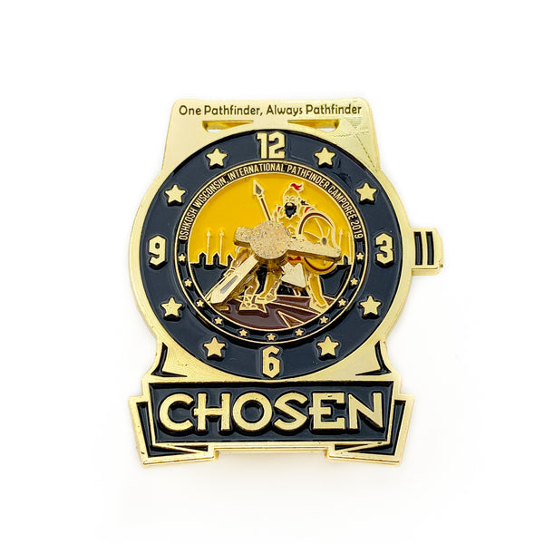Chosen 2019 Pathfinder Watch Pin (Black) - Pinfinder Club