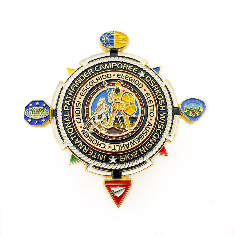 Chosen 2019 Pathfinder Boat Timon Pin - Pinfinder Club