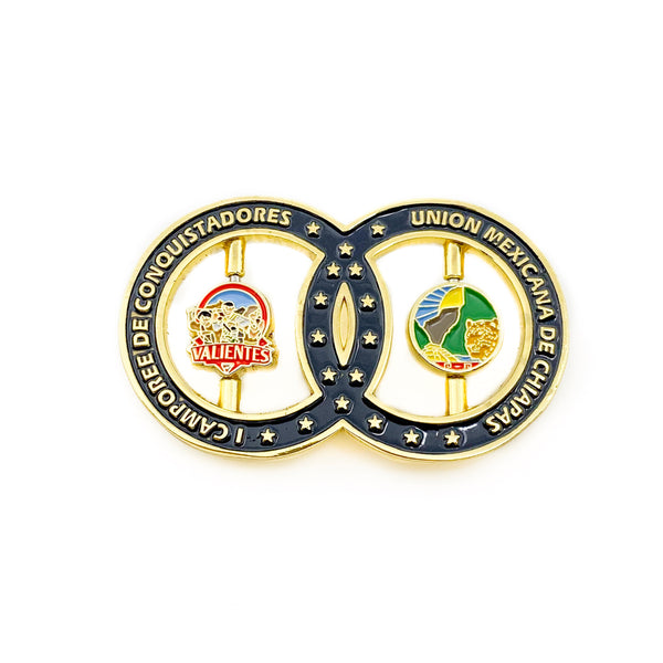 Valientes 2019 Circle Pin - Pinfinder Club