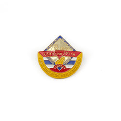 Thailand Adventist Mission Pin- Faith on Fire 2004